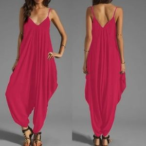 harem jumper pants romper